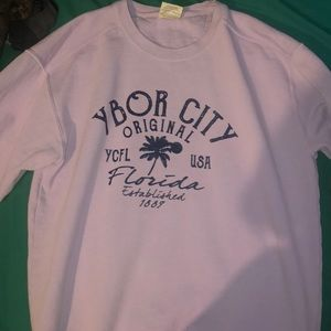 Other - Vintage lavender Ybor City crew neck sweater